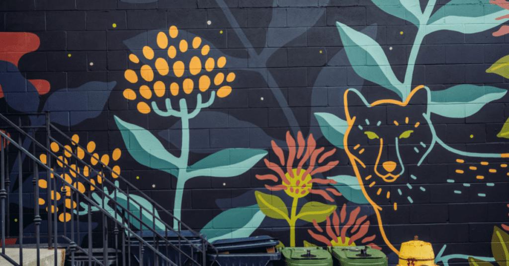 city mural