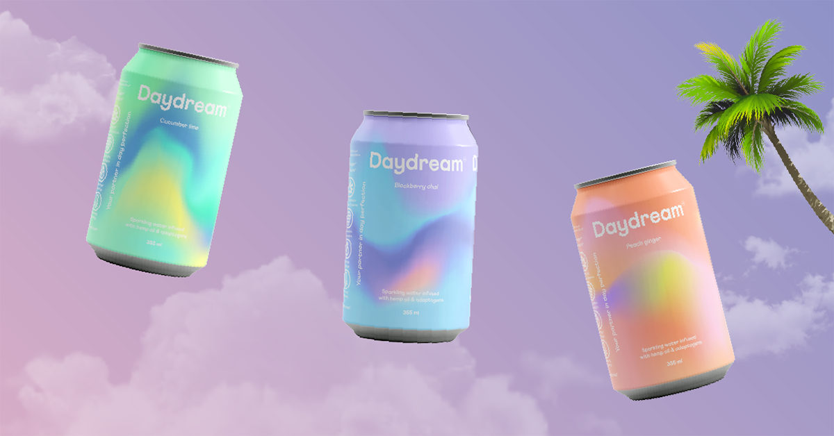 cans of daydream drinks