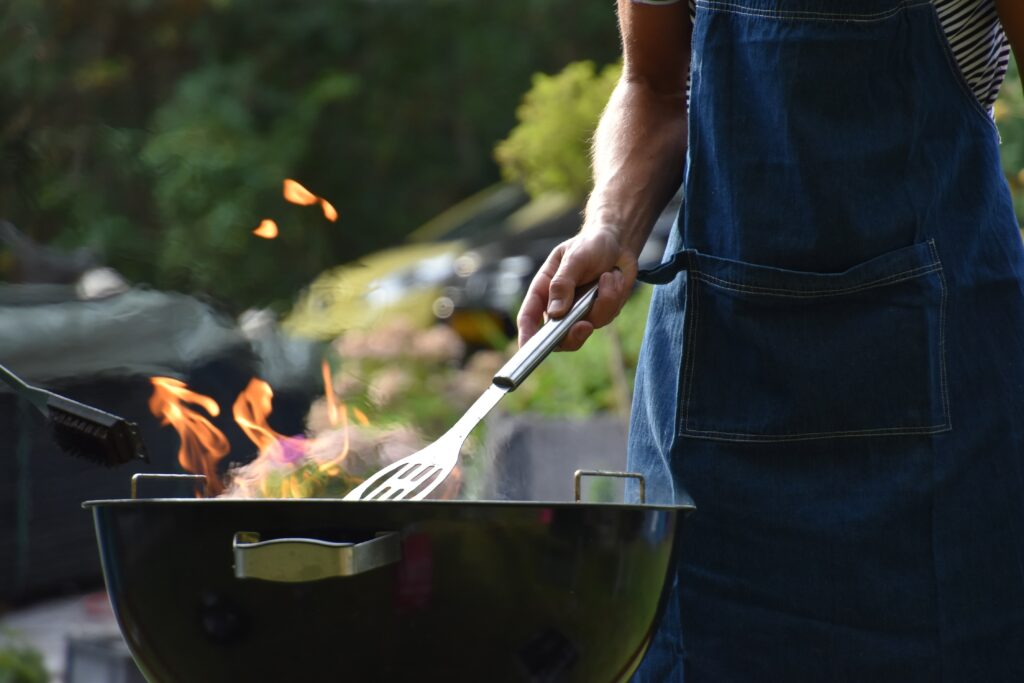 Outdoor Gatherings such as backyard barbecues are the perfect activity for the phase 2 of the open for summer plan