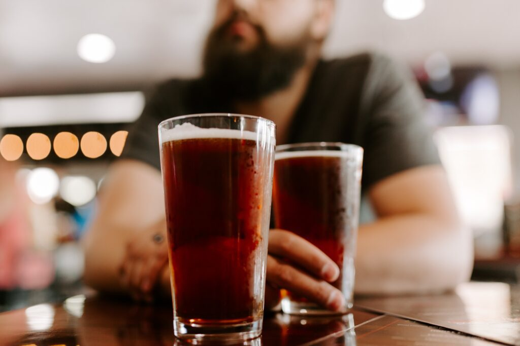 Making your own custom beer is the perfect date night activity with Shield to Field
