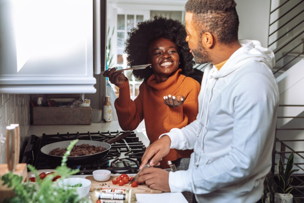 A cooking class is the perfect way to test your compatibility on a first date.