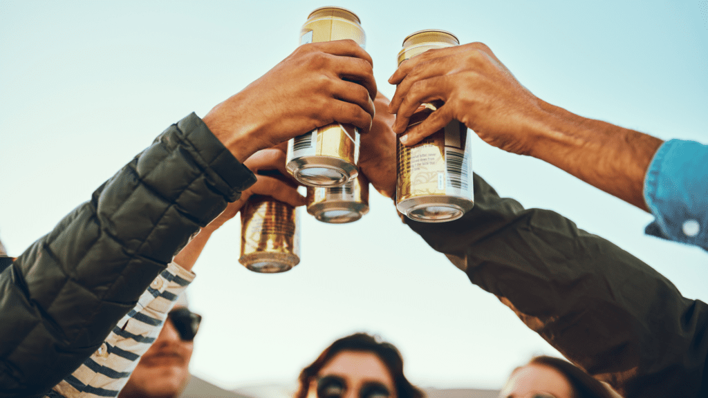 Cheers to having a nice drink in our YYC parks this summer!