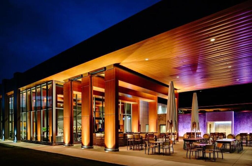 Block One winery restaurant is definitely one of the top 5 best winery dinners in the okanagan!