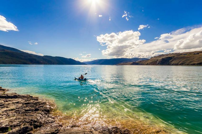 Heading to a  beach in the Okanagan is an amazing Saturday or Sunday morning date!