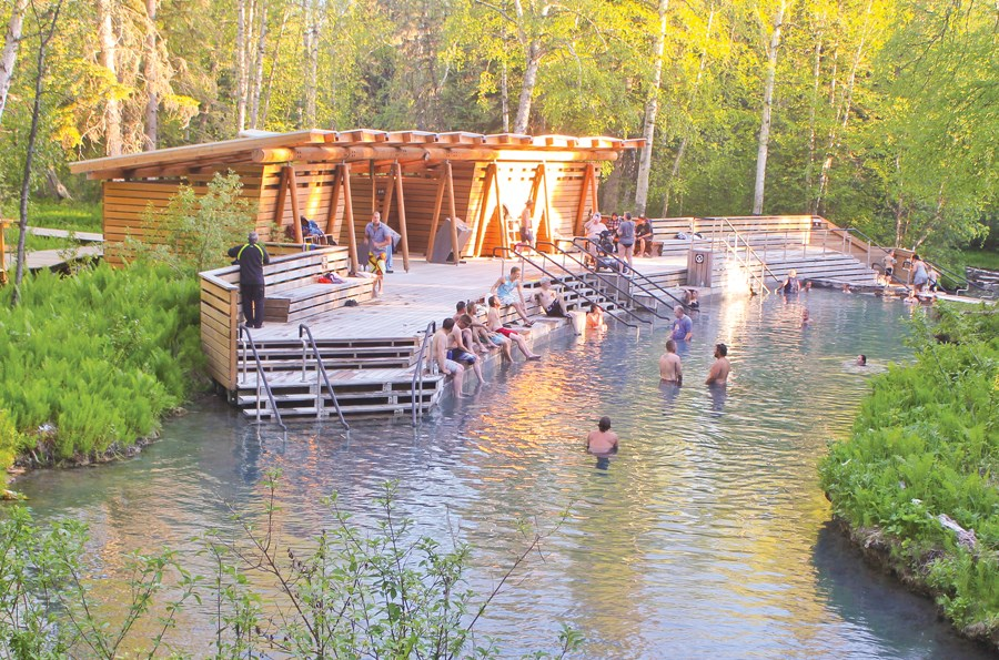 Liard River Hot Springs is a beautifully relaxing natural hot spot (literally)