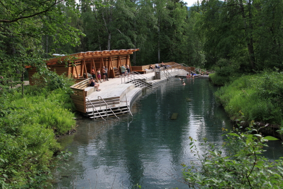 Liard River Hot Springs is one of BC's most beautiful camp grounds - perfect for a weekend getaway