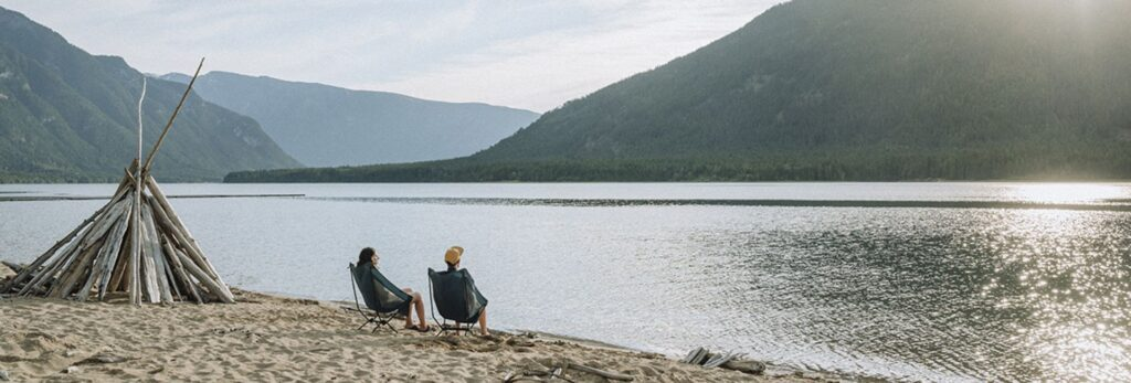 Right on the lake and only 10 minutes from the Hot Springs makes MacDonald Creek park one of the contenders for best BC campground for weekend getaways