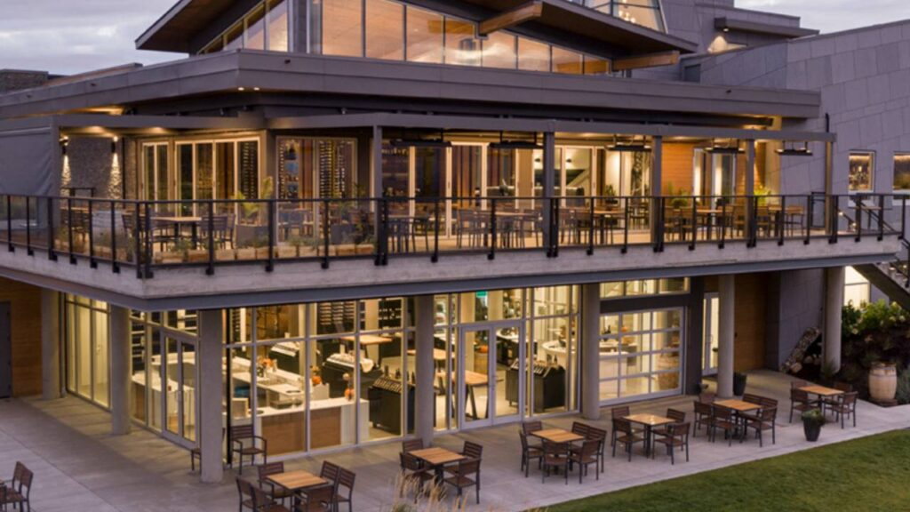 Modest Butcher winery restaurant is one of the top 5 winer dinners in the Okanagan