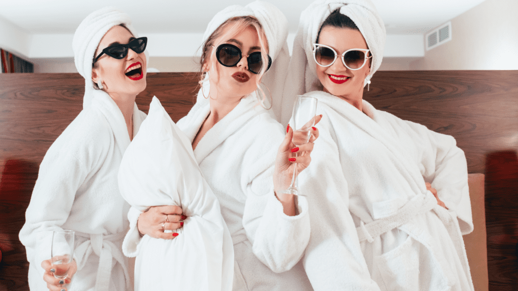 Get away from your day to day for a hotel staycation with the girls for your next BFF Date