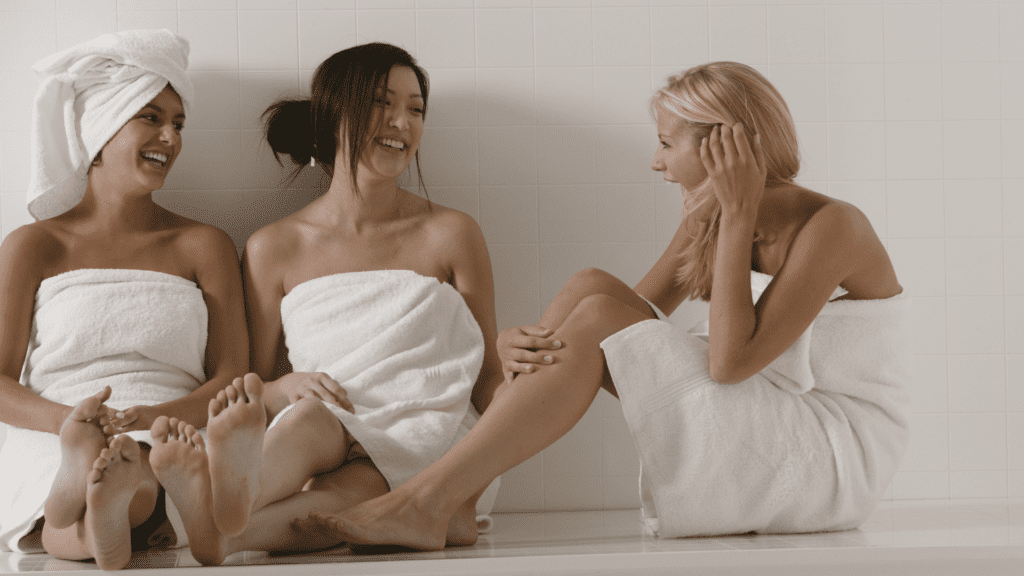 The spa is a perfect BFF Date to collectively relax and recharge.