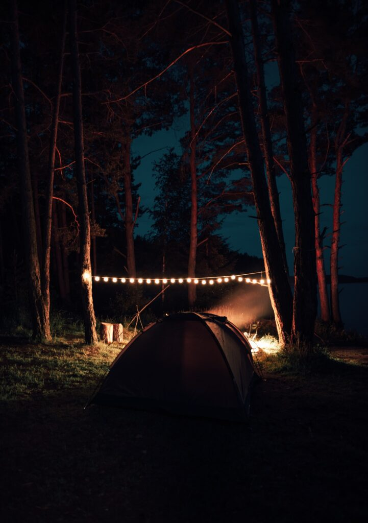 Camping is relaxing and even better with your best friends.