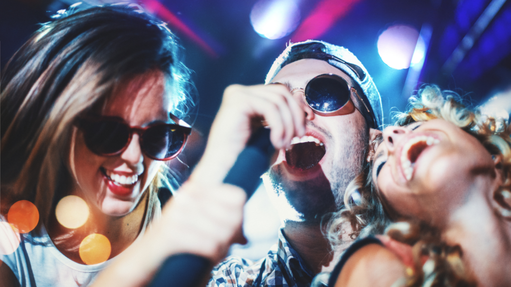 Karaoke is fun, loud and the perfect girls night out.