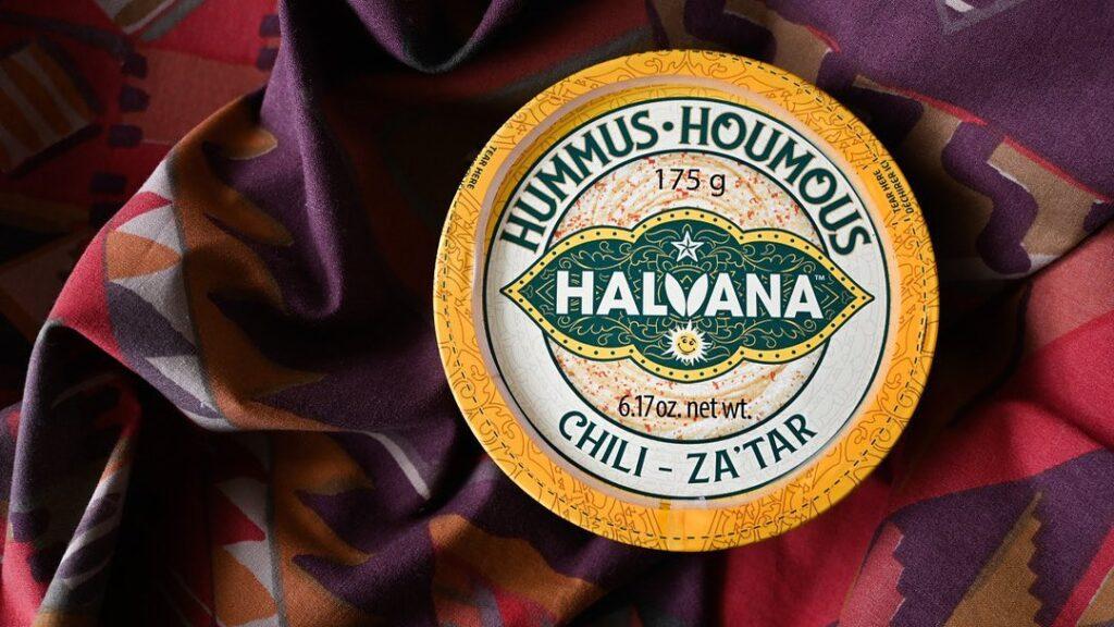 Halvana Hummus is delicious - try their chili za'tar!