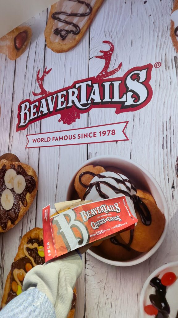 The best tasting pastry you will ever eat in your life is a beavertail.