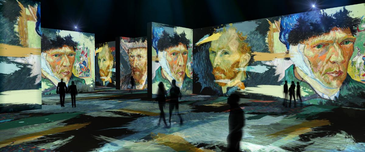 Beyond Van Gogh Self Portraits